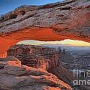 Just Before Sunrise At Canyonlands Art Print