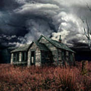 Just Before The Storm Art Print