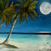 Just Beyond The Moon Art Print