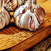 Just Garlic Art Print