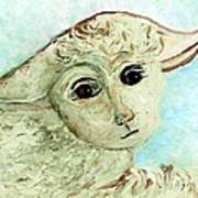 Just One Little Lamb Art Print