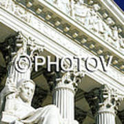 Justice For All - Us Supreme Court -  Limited Edition Art Print