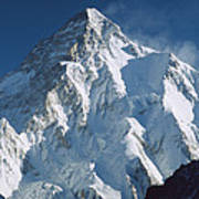 K2 At Dawn Pakistan Art Print