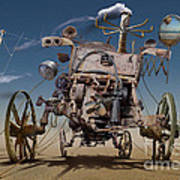 K316 Art Print by Radoslav Penchev