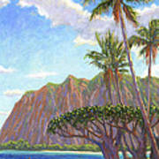 Kaaawa Beach - Oahu Art Print