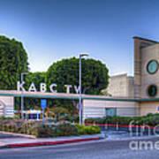 Kabc 7 Studio Burbank Glendale Ca Art Print