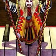Kabuki Chopsticks 1 Art Print