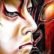 Kabuki Three Art Print
