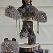 Kachina Doll Bear Head Removed Art Print