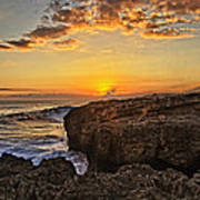 Kaena Point Sunset Art Print