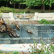 Kahlil Gibran Memorial Garden Art Print