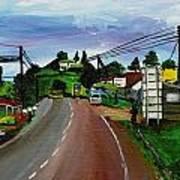 Kaihura Trading Center Art Print