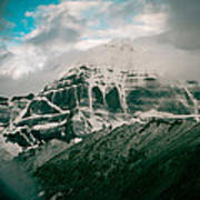 Kailas Mountain Tibet Home Of The Lord Shiva Art Print