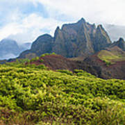 Kalalau Valley - Kauai Hawaii Art Print