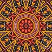 Kaleidoscope 39 Art Print