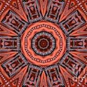 Kaleidoscope 40 Art Print