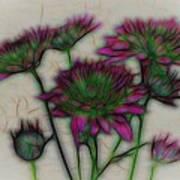 Kaleidoscope Bouquet Art Print