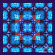 Kaleidoscope Combo 10 Art Print