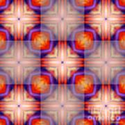 Kaleidoscope Combo 5 Art Print