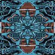Kaleidoscope Flower 2 Art Print
