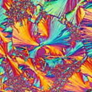 Kaleidoscope K Art Print