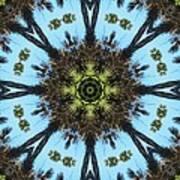 Kaleidoscope Palms Art Print