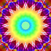 Kaleidoscope Rainbow Art Print
