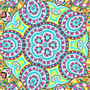 Kaleidoscopic Whimsy Art Print