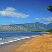 Kamole Beach Kihei Maui Hawaii Art Print