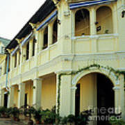 Kampot Old Colonial 08 Art Print