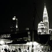 Kampung Baru Petronas Towers Art Print