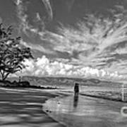 Kanahna Beach Maui Hawaii Panoramic Art Print