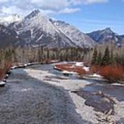 Kananaskis River Art Print