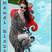 Kandi Blaze Poster 1 Art Print