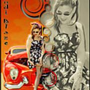 Kandi Blaze Poster 4 Art Print