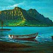 Kaneohe Bay Early Morn 1 Art Print