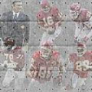 Kansas City Chiefs Legends Art Print