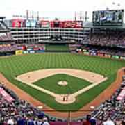 Kansas City Royals V Texas Rangers Art Print