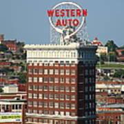 Kansas City - Western Auto Building 2 Art Print