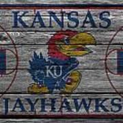 Kansas Jayhawks Art Print