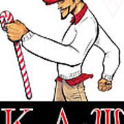 Kappa Alpha Psi Art Print
