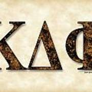 Kappa Delta Phi - Parchment Art Print