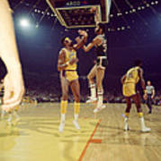 Kareem Abdul Jabbar  Art Print by Retro Images Archive