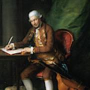 Karl Friedrich Abel (1725-1787) Art Print