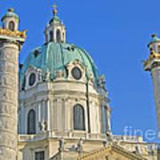 Karlskirche - Vienna Art Print