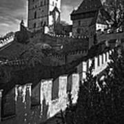 Karlstejn Castle Art Print