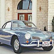 Karmann Ghia Coupe Art Print