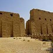 Karnak Temple 04 Art Print