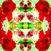 Karnation Kaleidoscope Art Print