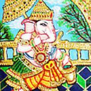 Kasi Yatra Ganesh Art Print